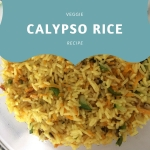 Calypso rice recipe artwork