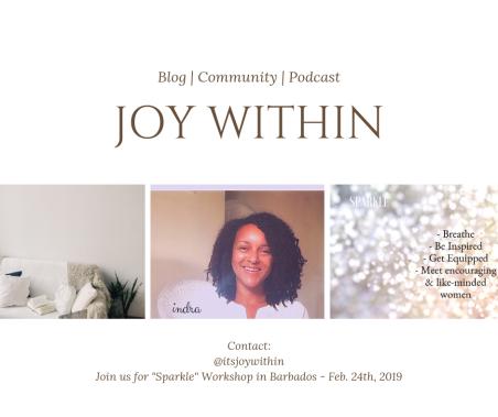 Joy within blog