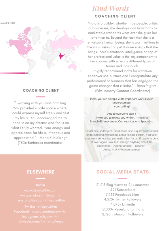 testimonials | social media